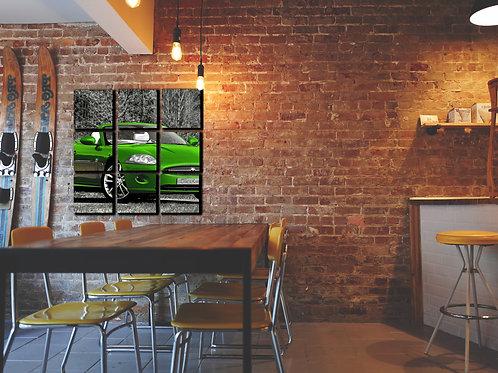 Jaguar XK-8 Wall Art Decor Picture Painting Print Sport Car Art
