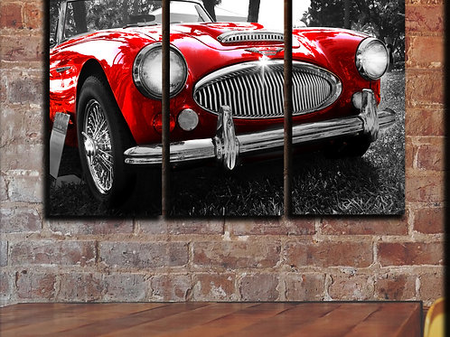 Large Austin Healey Wall Art Decor Picture Painting Print 22 by 33 in