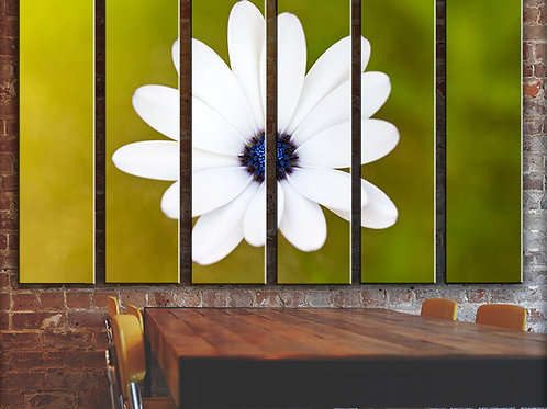 Be happy! Wall Art Decor Picture Painting Print Flowers Art