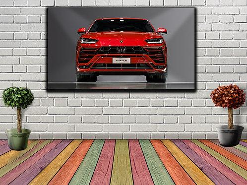 Lamborghini Wall Art Decor Picture Painting Print Sport Car Art