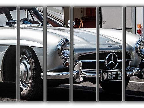 Mercedes-Benz 300SL Wall Art Decor Picture Painting Print Vintage Car Art