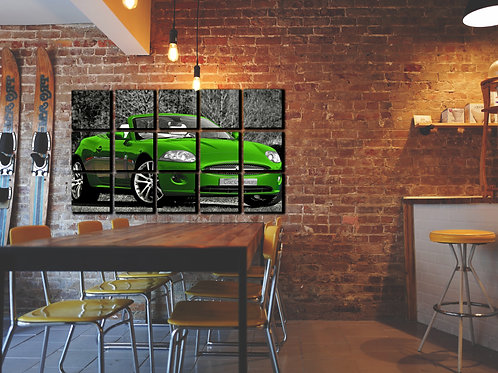 Jaguar XK-8 Wall Art Decor Picture Painting Print Sport Car Art
