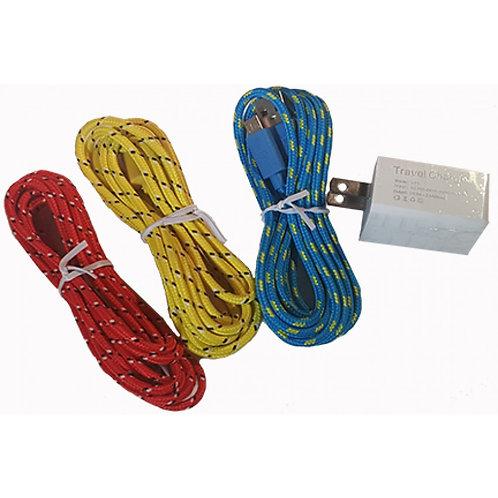 USB Cord & Power Brick 2.4A