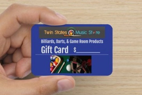 Twin States Music Store Gift Card $1000