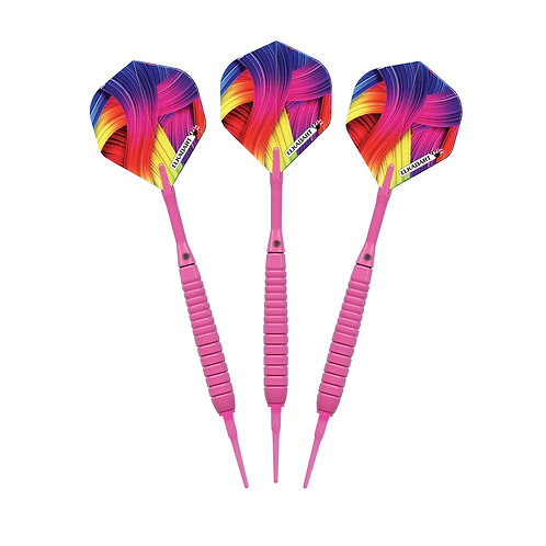 Elkadart Neon Pink Soft Tip Darts