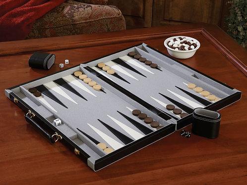 """Mainstreet Classics 22.5"""" Backgammon Set"""