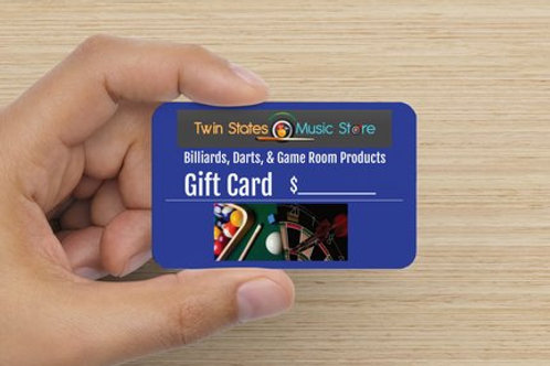 Twin States Music Store Gift Card $15