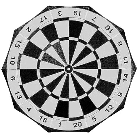 Dartboard Umbrella