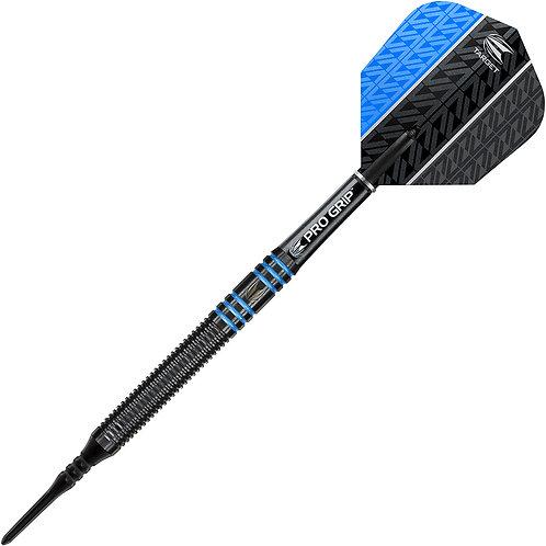 Target Vapor 8 Black Blue Soft Tip Darts