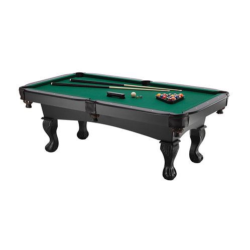 Fat Cat 7' Kansas Billiards Table with Ball and Claw Legs