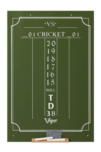 Large Cricket Chalk Scoreboard