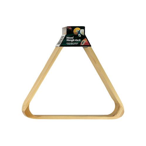 Wood Triangle Rack