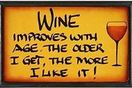 Wine Improves Sign