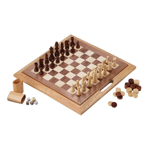 Mainstreet Classics 3-in-1 Dutchman Game Combo Set