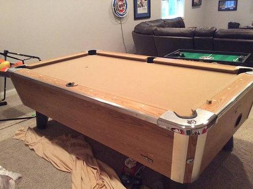 Valley Birch Model Pool Tables