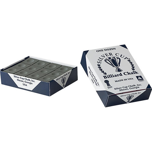 Silver Cup Premium Black Pool Chalk