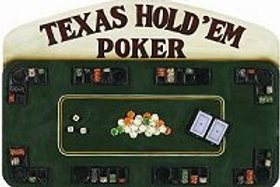Texas Hold Em Poker Sign