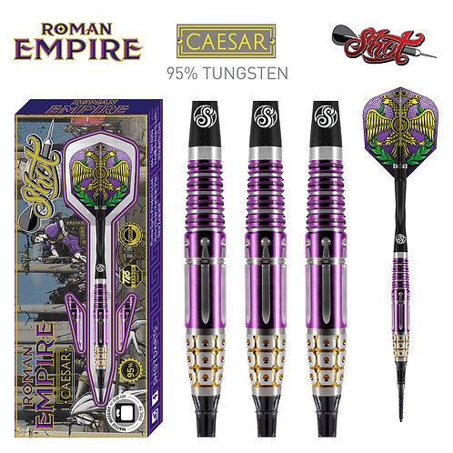 Shot! Roman Empire Caesar Soft Tip Darts