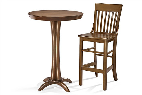 Brunswick Pub Table and Two (2) Pub Stools Package