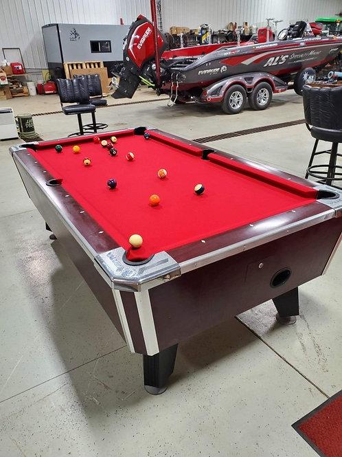 Valley Dark Mahogany Model Premium Pool Tables