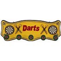 Darts Coat Rack Pub Sign