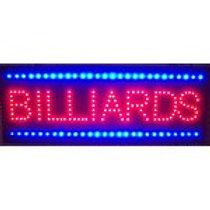 LED Premium Billiards Sign