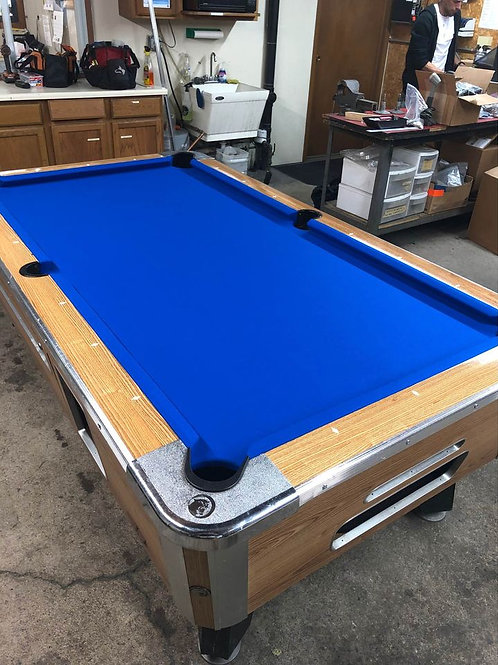 Valley Birch Model Pool Tables