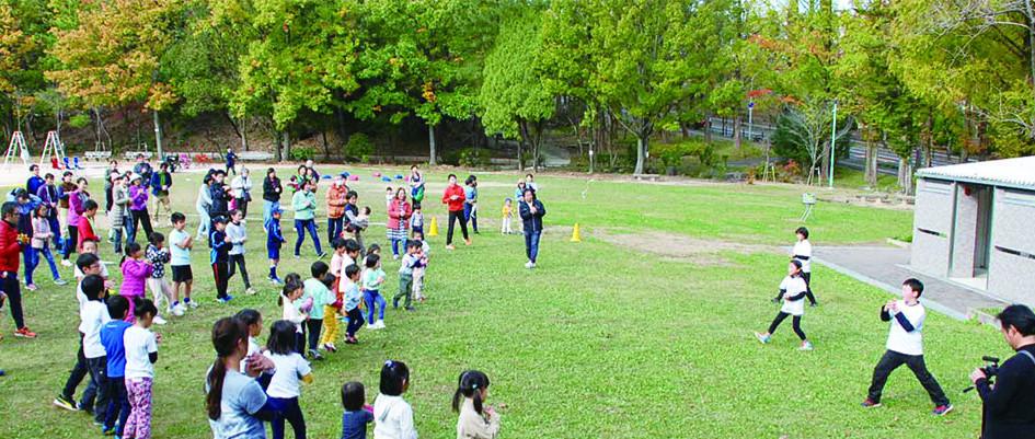 森の子教室運動会サポート