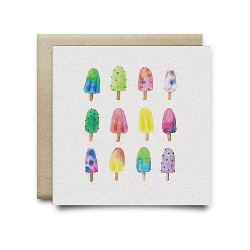 Sweet Popsicle Pattern