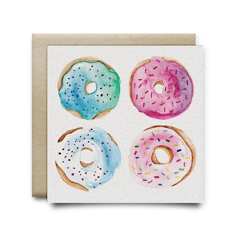 Sweet Donut Pattern