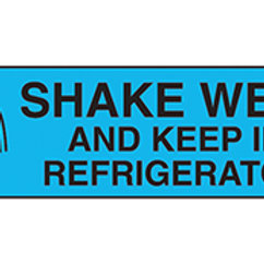 LABEL: SHAKE WELL KEEP IN REFRIGERATOR
