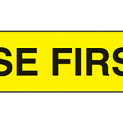LABELS: USE FIRST