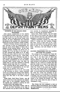 Our Navy Article