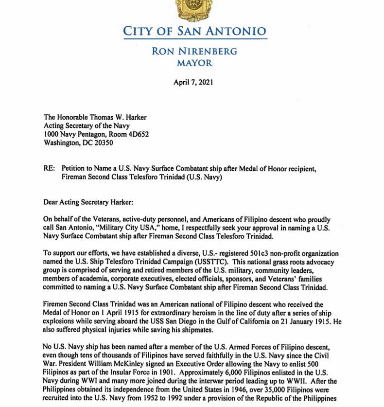 USTTCC City of San Antonio