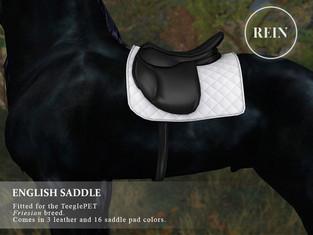 [REIN] English Saddle