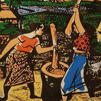 Pounding Rice (Nagbabayo)
