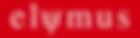 elymus logo raudonam fone.png