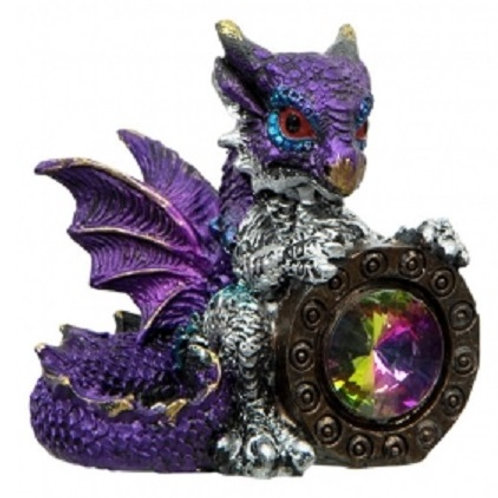 Dragon holding Gem  2 inch