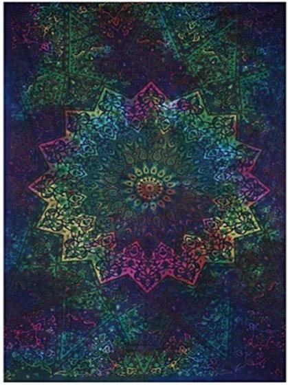 Mandala Twin Tapestry