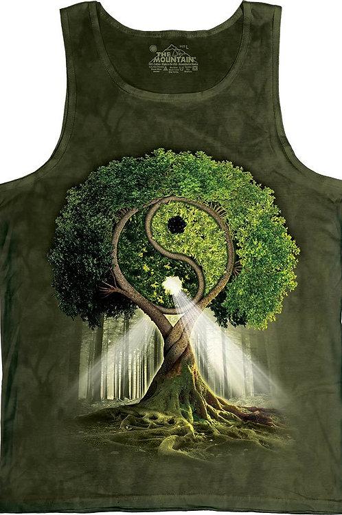 Yin Yang Tree Tank-Adult