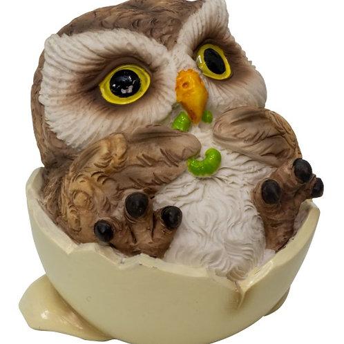 Baby Owl Figurines