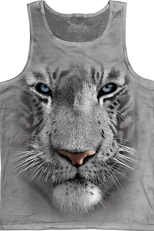 White Face Tiger Tank-Adult