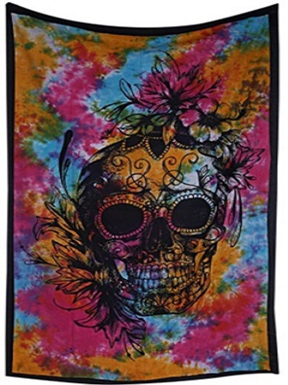 Skull Twin Tapestries