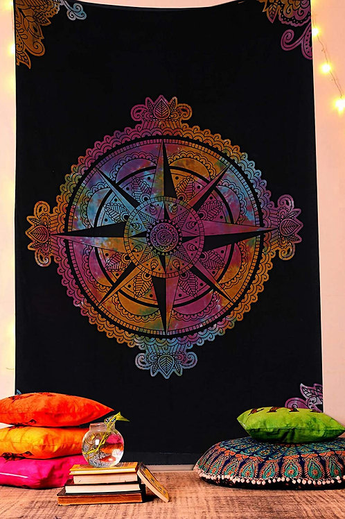 Compass Twin Tapestry
