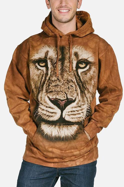 Lion Warrior Hoodie-Adult