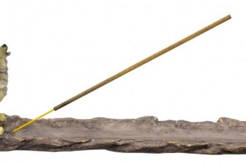 Wolf Incense stick burner