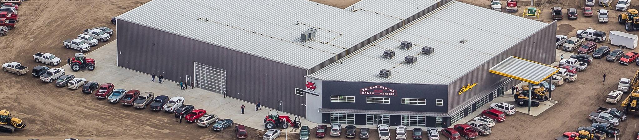 Trochu Motors Building - Wide