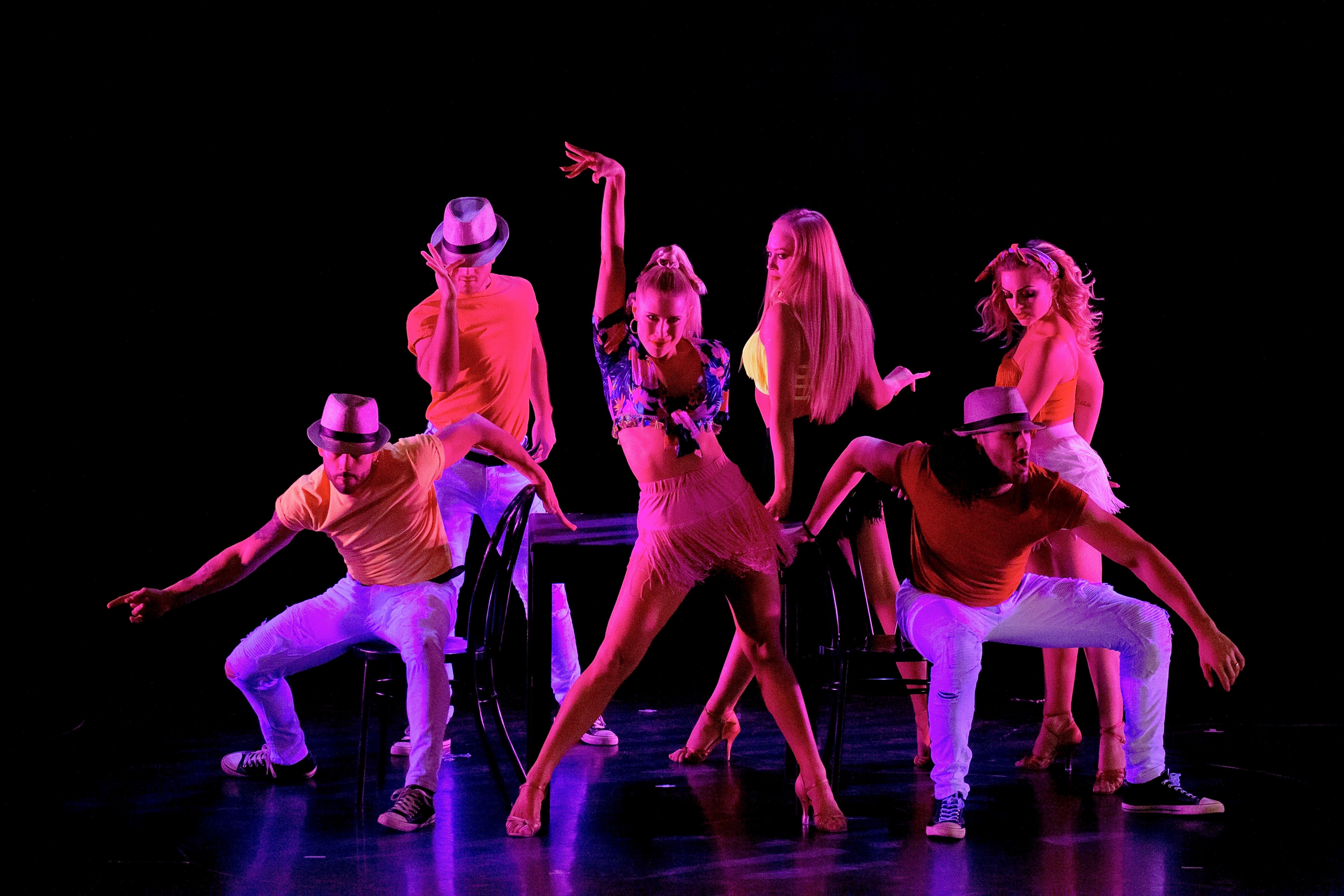 LATIN TECHNIQUE DANCE CLASS