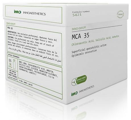 MCA 35 5 x 5 ML. Biorevitalización Piel Hipotónica, Atrófica y Elastosis
