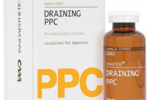 DRAINING PPC 25 ML. Reducción Adiposidad Localizada